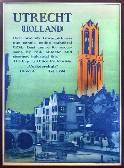Joseph Rovers (1893 – 1970) poster gemaakt in 1929